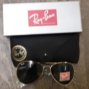 Brand New Rov RayBan Aviators 62mm Never Worn